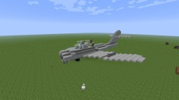 Mikoyan-Gurevich MiG-17 Minecraft Map & Project