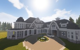Shingle Style Lakehouse Minecraft Map & Project