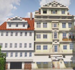 Oberpostamt in der Hohentorstrasse Kassel, Germany Minecraft