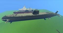 nuclear submarines Jigoku class Minecraft Map & Project