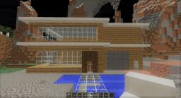 2 Floor Modern House Minecraft Map & Project