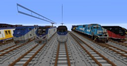 5:1 scale Acela Express Minecraft Map & Project