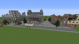 CoD WW2 Aachen Minecraft Map & Project