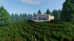 Minimal Modern House Minecraft Map & Project