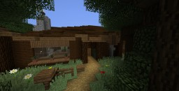 house in the woods Minecraft