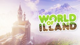 World of ILLAND. Winter Peak Minecraft Map & Project