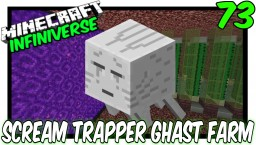 """""""Starting The Scream Trapper Ghast Farm"""" Minecraft Map & Project"""