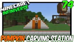 """Semi Auto Pumpkin Carving Station"" Minecraft Map & Project"