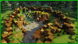 SURVIVAL MINECRAFT BASE !! (WORLD DOWNLOAD) / Minecraft Timelapse Minecraft Map & Project