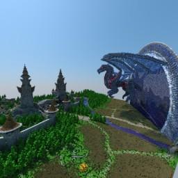 Sci-fi Dragon Invasion 500x500 Minecraft