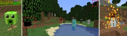 Cameras, Peashooters, and Blaze-Golems DataPack Minecraft Mod