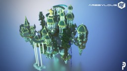 Aeria Skyblock Spawn Minecraft Map & Project