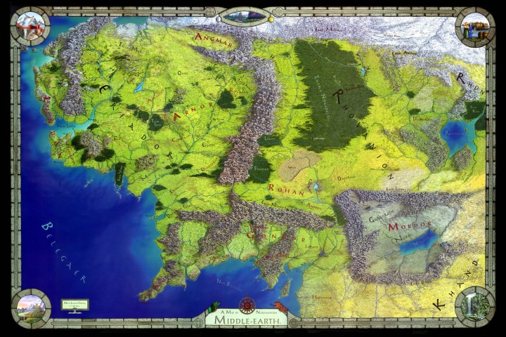 Best Middle Earth Map - The Lord of the Rings Minecraft Project