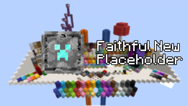 Popular Texture Pack : Faithful New Textures (Placeholder Until Official)