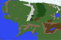 Best Middle Earth Map - The Lord of the Rings Minecraft Map & Project