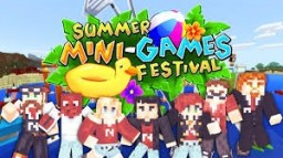 Summer Minigames Festival For Free!! Minecraft Map & Project