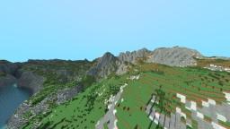 Shaaraun Valley - 3k*3k World Painter Map Minecraft Map & Project