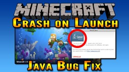 Minecraft Crash on Launch Mac OS Fix | Minecraft Java Bug Fix Minecraft Blog Post