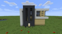 Small Modern House Minecraft