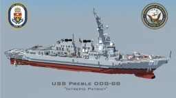 USS Preble DDG-88 Minecraft
