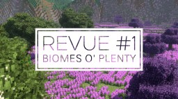 Revue #1 - Biomes O' Plenty Minecraft Blog Post