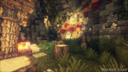 Camp of human tribe Minecraft Map & Project