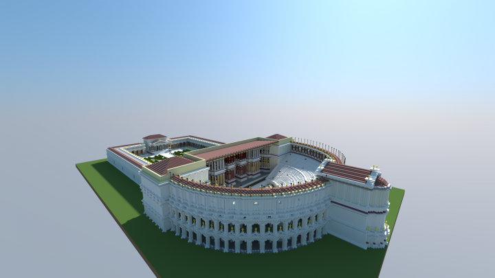 Roman Theater of Pompey Minecraft Map