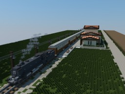 Vintage Train Car Collection Minecraft Map & Project