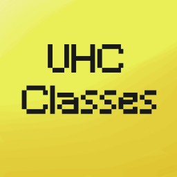 UHC Classes Minecraft Map & Project
