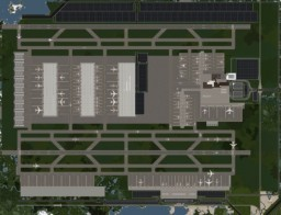 Mineopolis International Airport | Mineopolis | Huge Modern City | DOWNLOAD Minecraft