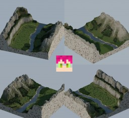 Quiet valley 02 600x600 Custom map Minecraft Map & Project