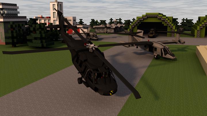 Вертолеты Flans для майнкрафт
