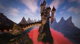 Dark Castel Minecraft Map & Project