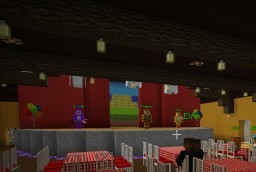 Five nights at Freddy's NEW Pizzeria (Yr 2028) Minecraft Map & Project