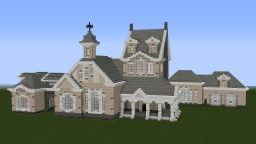 WIP Mansion Minecraft