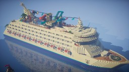 Atlas the Cruise Ship Minecraft Map & Project