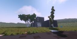 Minimalist Black House Minecraft