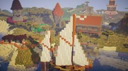 A Vanilla base Minecraft Map & Project