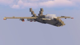 JF-15A11 Fictional Fighter Jet Minecraft Map & Project