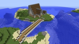 big complete house Minecraft Map & Project