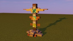 Totem Pole Minecraft Map & Project