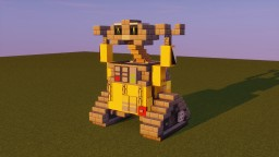 Wall-E Minecraft Map & Project