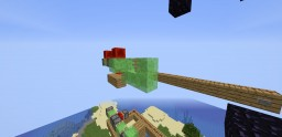 Hole in the wall for PopularMMos Minecraft Map & Project