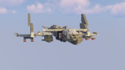 "SVZ-J671c ""Futuristic Fictional Fighter Jet"" Minecraft Map & Project"