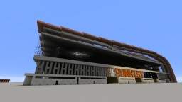 Sunkist Arena (Fictional) Minecraft Map & Project