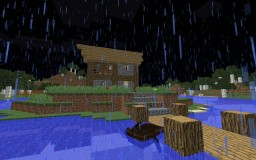 Simple RP Style Fisherman's Shack Minecraft Map & Project