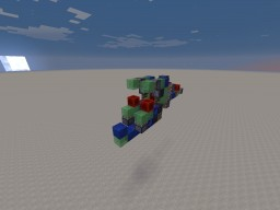 Wide range slimestone cannon Minecraft Map & Project