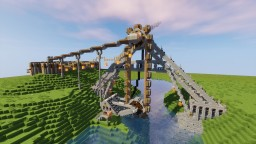 Bucket Wheel Water Pump Minecraft Map & Project