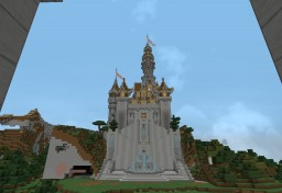 Royal Castle, Temple and Clan Base Minecraft Map & Project