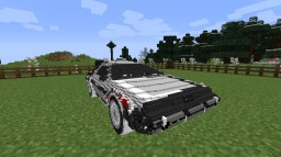 Back to the Future Mod Minecraft Mod